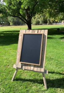 Pallet Chalkboard for Rent