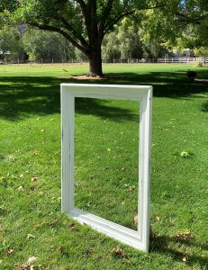 White Picture Frame for Rent