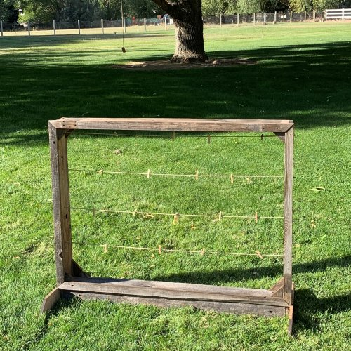 Barnwood Picture or Seating Board for Rent