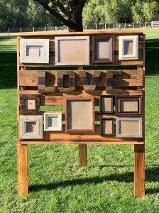 Rustic Love Pallet for Rent
