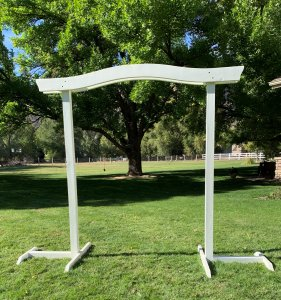 White Arch for Rent