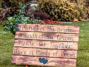 Rustic Friends Sign Rental $45